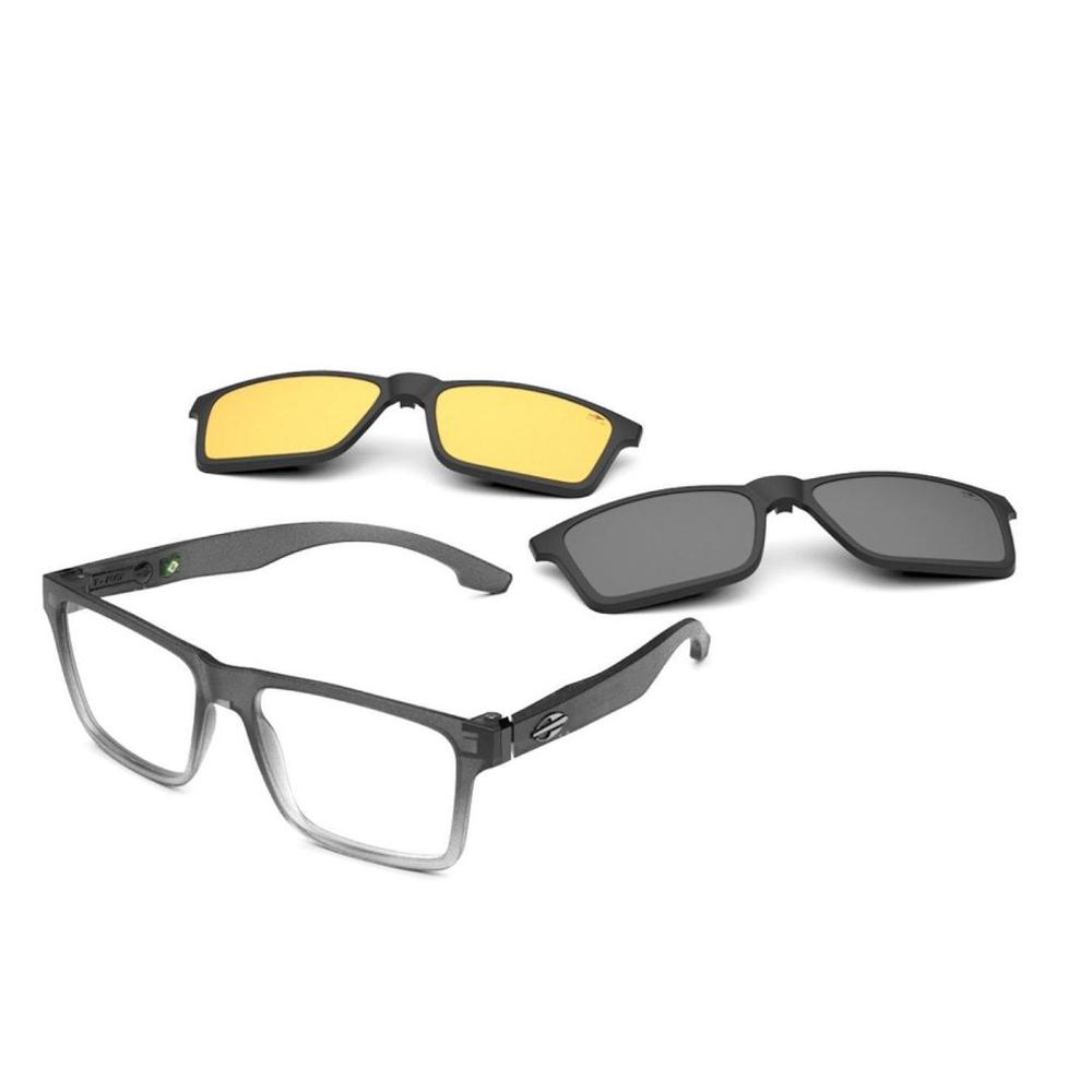 Óculos De Grau Mormaii Swap Ng Duo Clip On M6098 DK2/56
