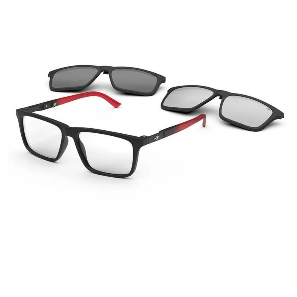 Óculos De Grau Mormaii Swap Ng Duo Clip On M6112 A85/55