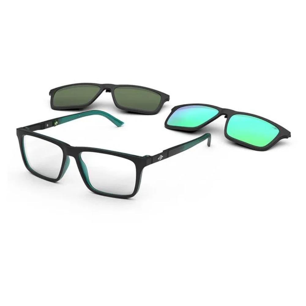 Óculos De Grau Mormaii Swap Ng Duo Clip On M6112 AA8/55