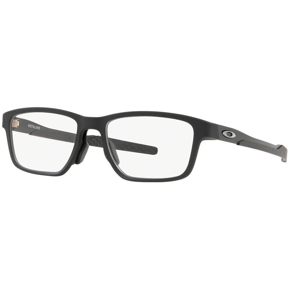 Óculos de Grau Oakley Metalink Preto OX8153 - 0155/55