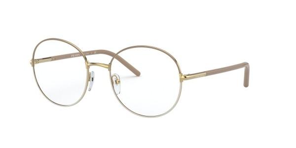 Óculos de Grau Prada Dourado PR 55WV - 06I1O1/53