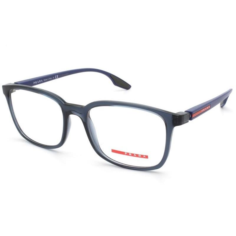 Óculos de Grau Prada Linea Rossa Azul PS 05MV - CZH1O1/55