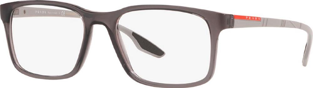 Óculos de Grau Prada Linea Rossa Cinza PS 01LV - 01D1O1/54
