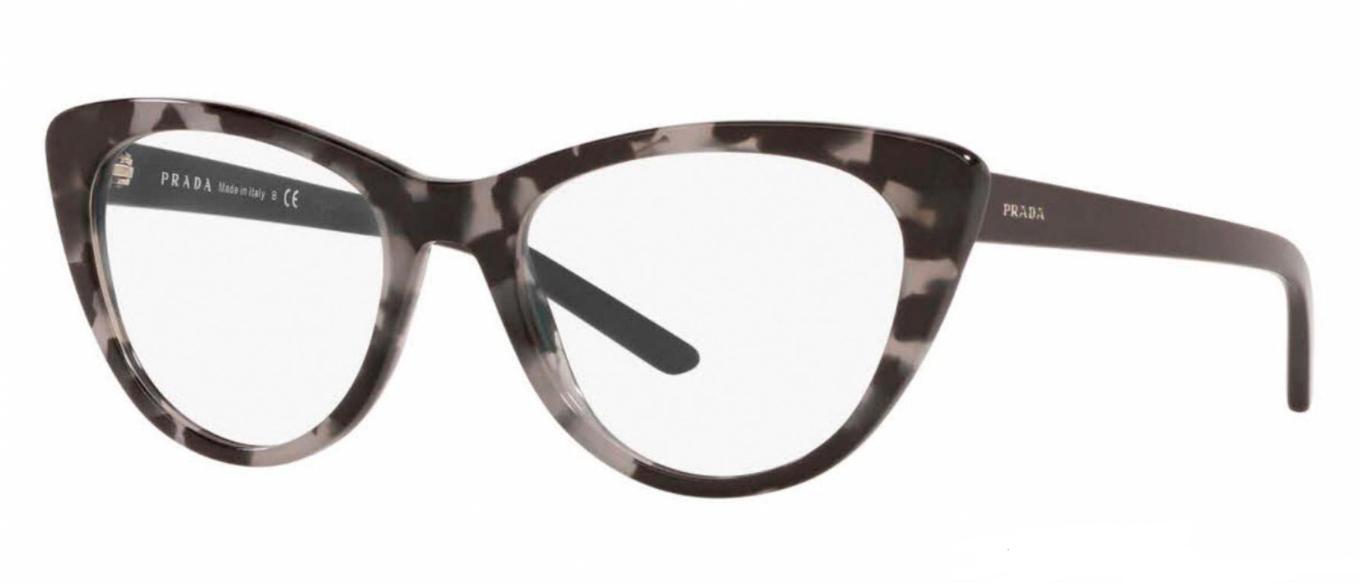 Óculos de Grau Prada Millennials Preto/Cinza PR 05XV - 5101O1/53