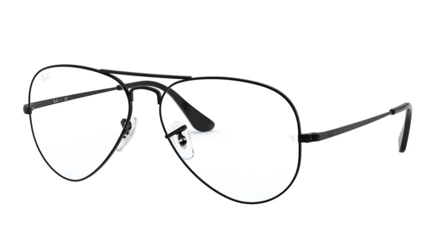 Óculos de Grau Ray-Ban Aviator Optics Preto RB6489 - 2503/58