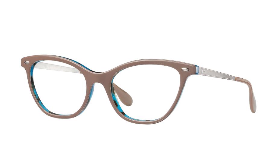 Óculos de Grau Ray-Ban Bege/Azul RB5360 - 5715/54