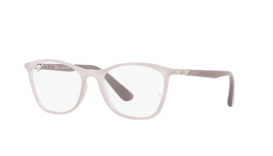 Óculos de Grau Ray-Ban Bege/Cinza RB7157L - 5962/52