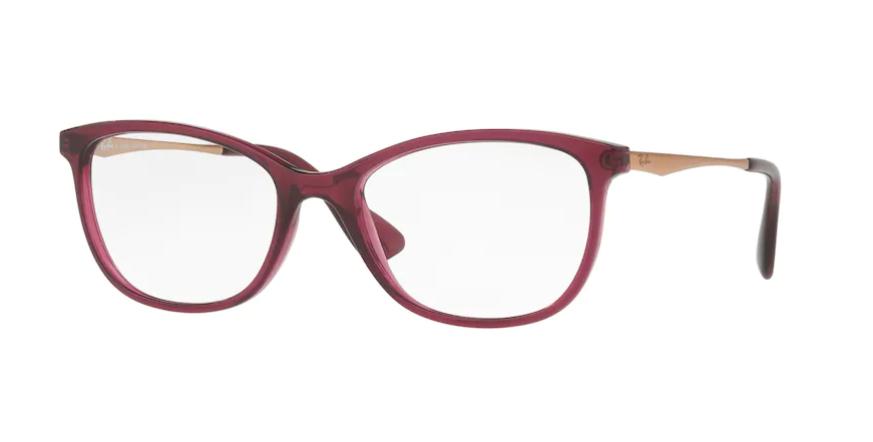 Óculos de Grau Ray-Ban Bordô RB7106L - 8000/53