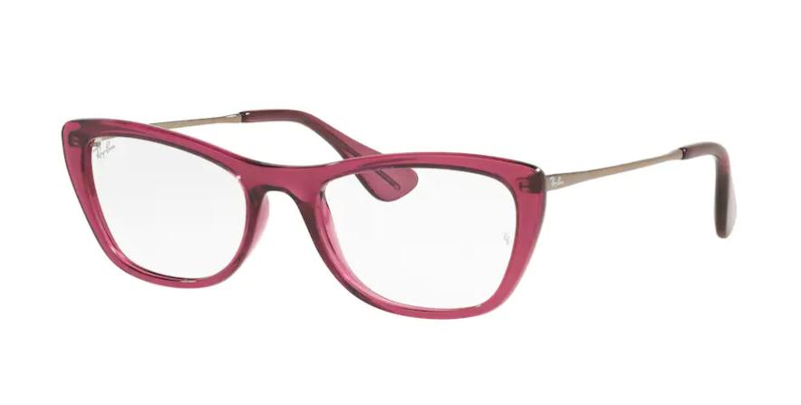 Óculos de Grau Ray-Ban Bordô Translucido RB7172L - 5891/52