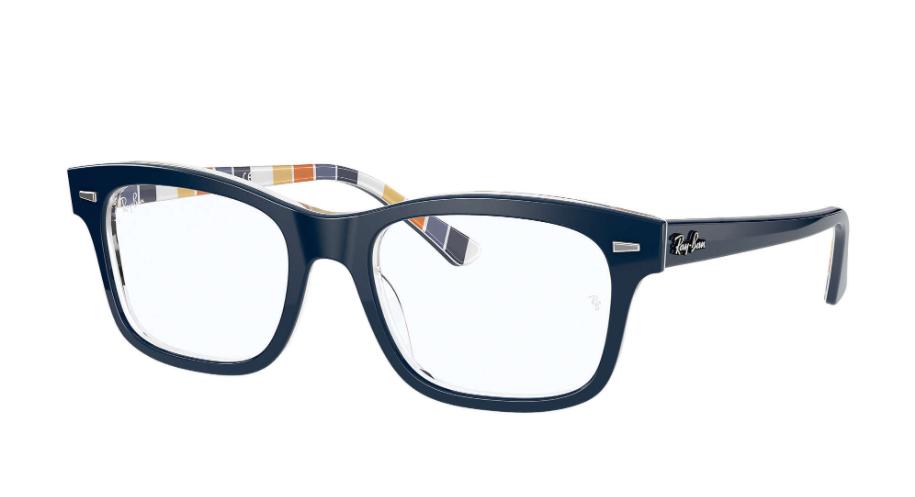 Óculos de Grau Ray-Ban Burbank Azul Escuro RB5383 - 8091/54