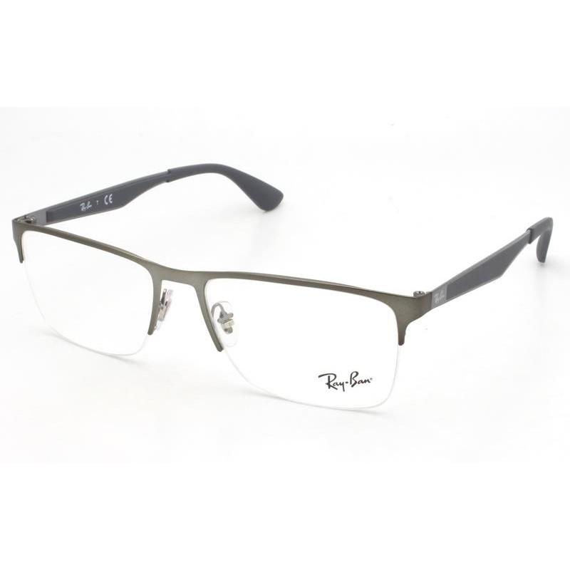 Óculos de Grau Ray-Ban Chumbo RB6335 - 2855/56