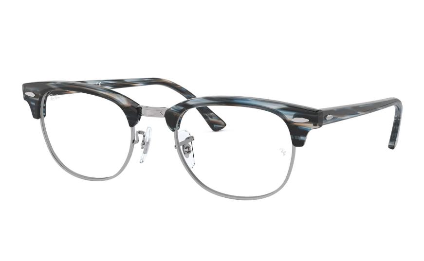 Óculos de Grau Ray-Ban Clubmaster Optics Azul/Cinza RB5154 - 5750/51