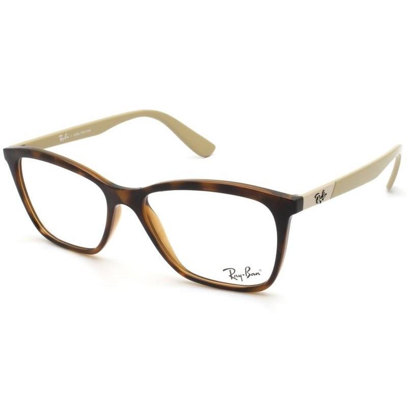 Óculos de Grau Ray-Ban Havana/Nude RB7162L - 5979/54