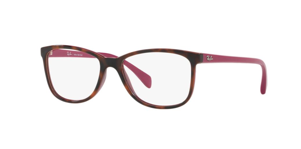 Óculos de Grau Ray-Ban Havana/Violeta RB7121L - 5824/53