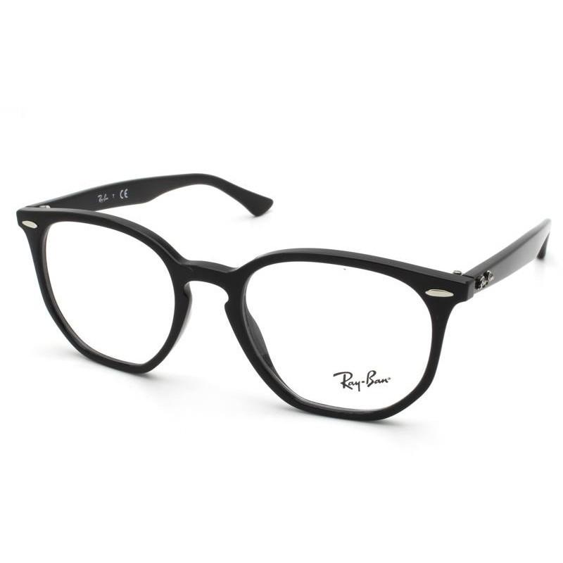 Óculos de Grau Ray-Ban Hexagonal Optics Preto RB7151 - 2000/52