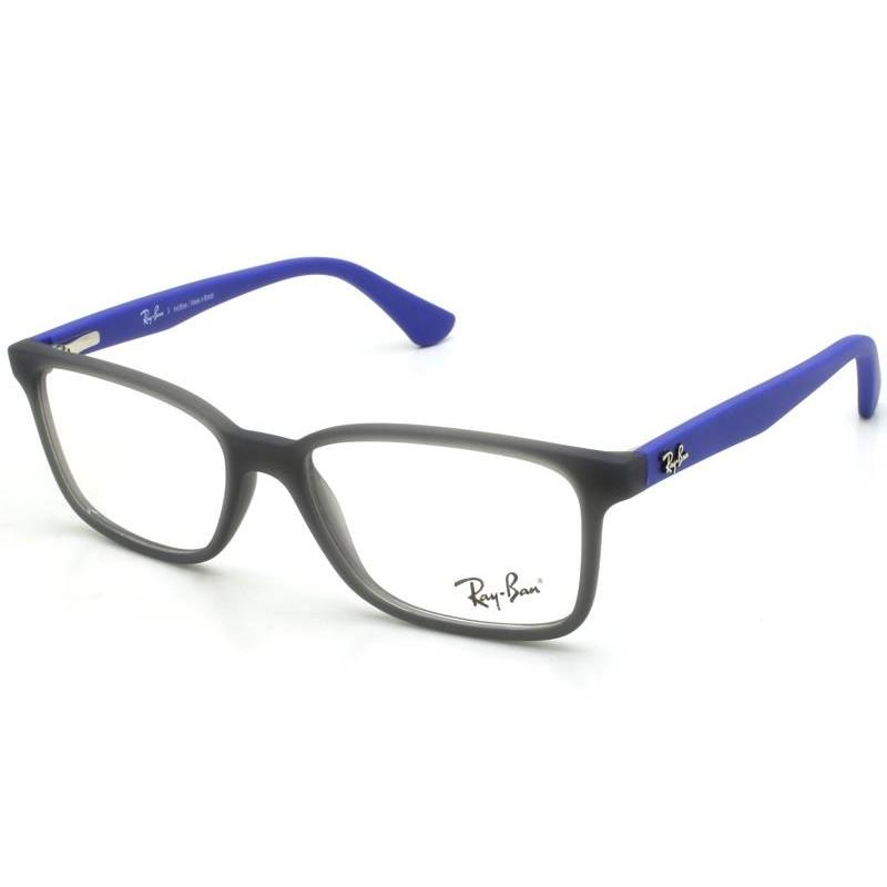 Óculos de Grau Ray-Ban Infantil Azul/Cinza RB1572L -3786/49