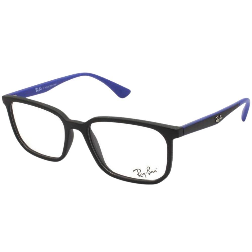 Óculos de Grau Ray-Ban Infantil RB1595L Azul/Preto  - 3822/49