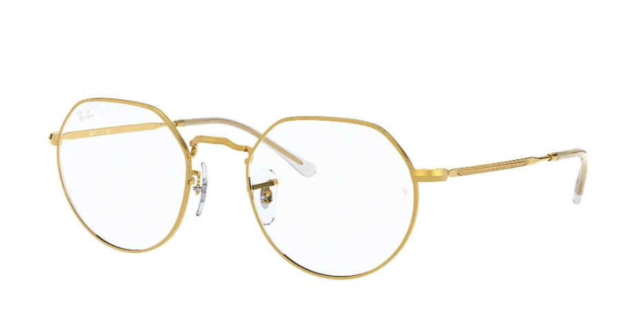 Óculos de Grau Ray-Ban Jack Optical Dourado RB6465 - 3086/51