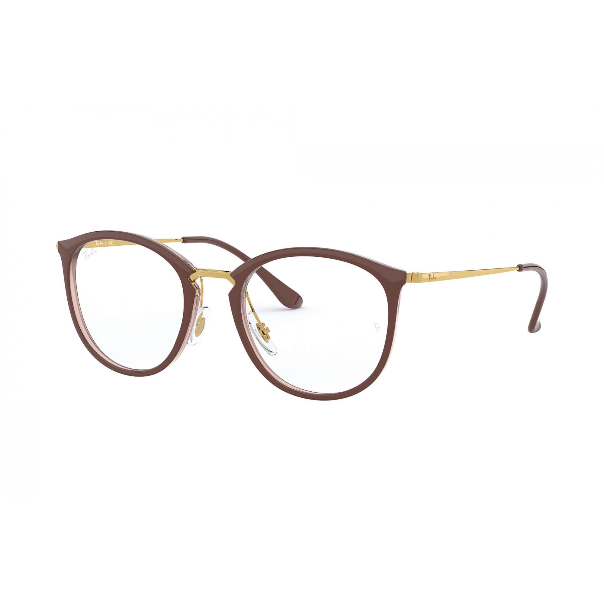 Óculos de Grau Ray-Ban Marrom/Dourado RB7140 - 5971/51