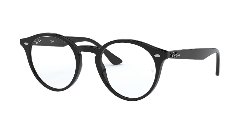 Óculos de Grau Ray-Ban Preto RB2180V - 2000/49