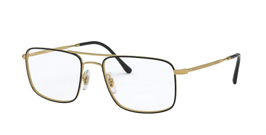 Óculos de Grau Ray-Ban Preto RB6434 - 2946/55