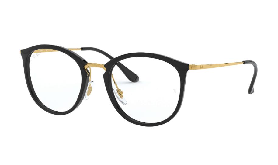 Óculos de Grau Ray-Ban Preto RB7140 - 2000/51