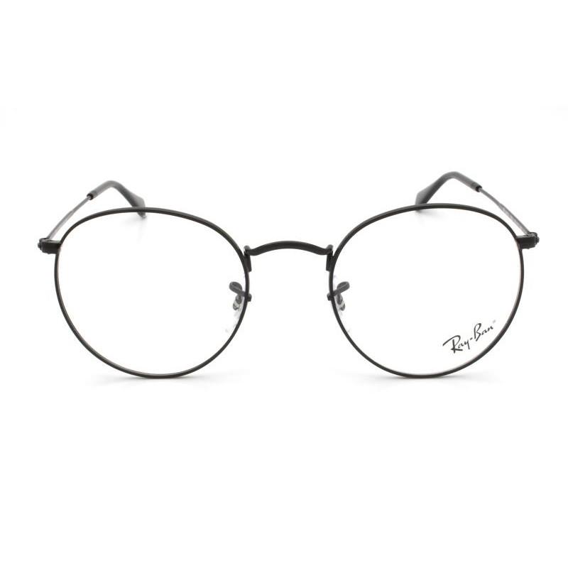 Óculos de Grau Ray-Ban Round Metal Optics Preto RB3447VL- 2503/50