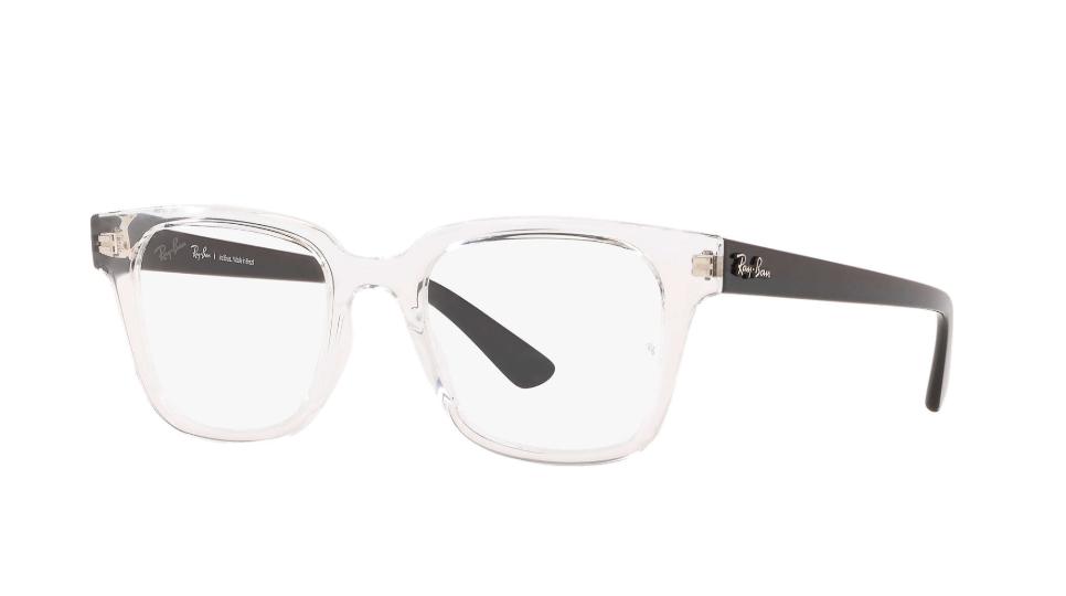 Óculos de Grau Ray-Ban Transparente/Preto RB4323VL - 5943/51