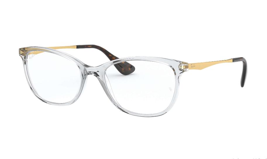 Óculos de Grau Ray-Ban Transparente RB7106L - 5931/53