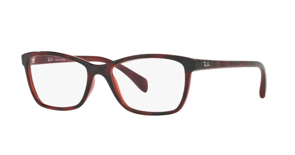 Óculos de Grau Ray-Ban Vermelho RB7108L - 5695/53
