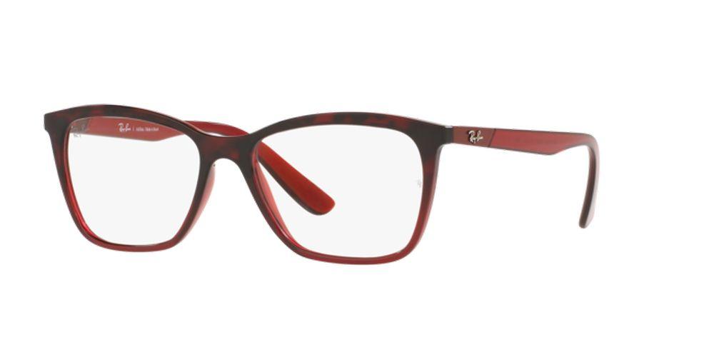 Óculos de Grau Ray-Ban Vinho/Havana RB7162L - 5978//54