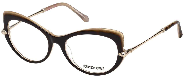Óculos de Grau Roberto Cavalli Bisenzio Marrom/Rosé 5021 - 052/54