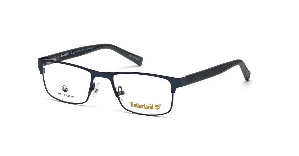Óculos de Grau Timberland Azul Fosco TB1594 - 091/58