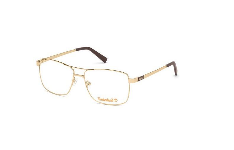 Óculos de Grau Timberland Dourado TB1639 - 032/58