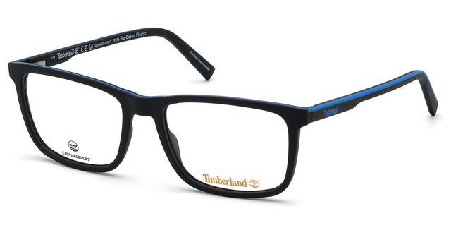 Óculos de Grau Timberland Preto/Azul TB1654 - 002/56