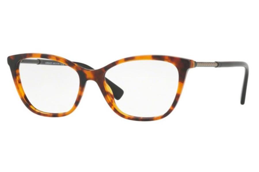 Óculos de Grau Versace Havana/Preto MOD3248 - 5074/54