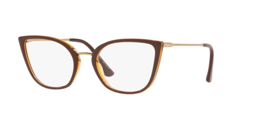 Óculos de Grau Vogue Marrom/Caramelo VO5299L - 2785/54