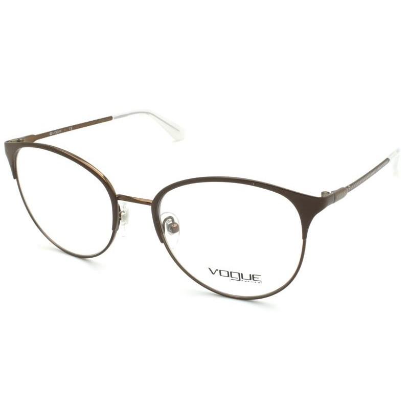Óculos de Grau Vogue Marrom VO4108 - 5101/51