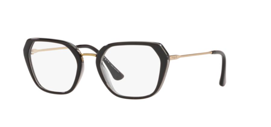 Óculos de Grau Vogue Preto/Cinza VO5301L - 2385/52