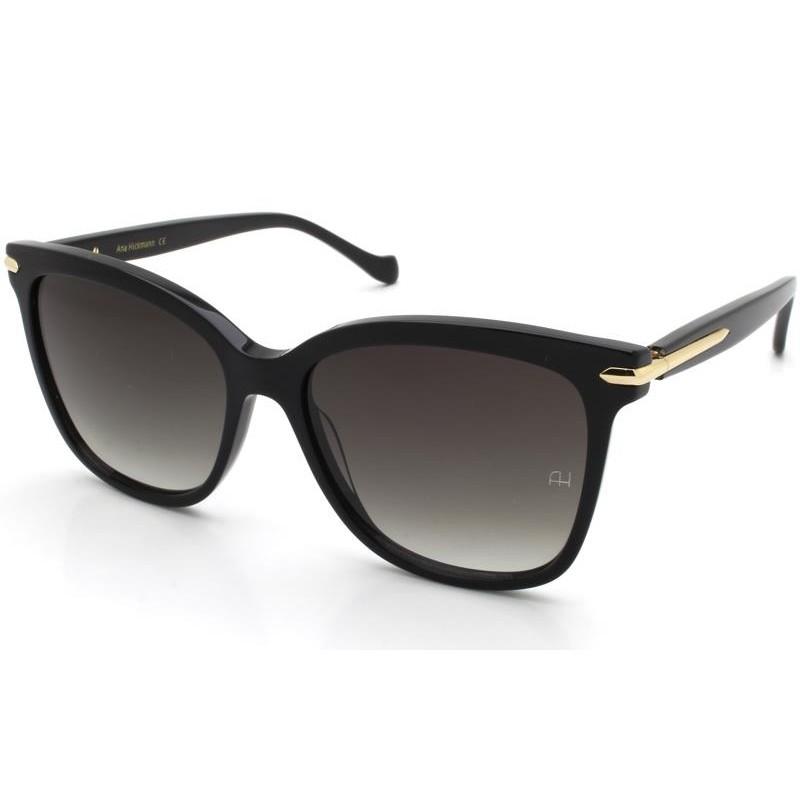 Óculos de Sol Ana Hickmann Preto/Dourado AH9296 - A01/55