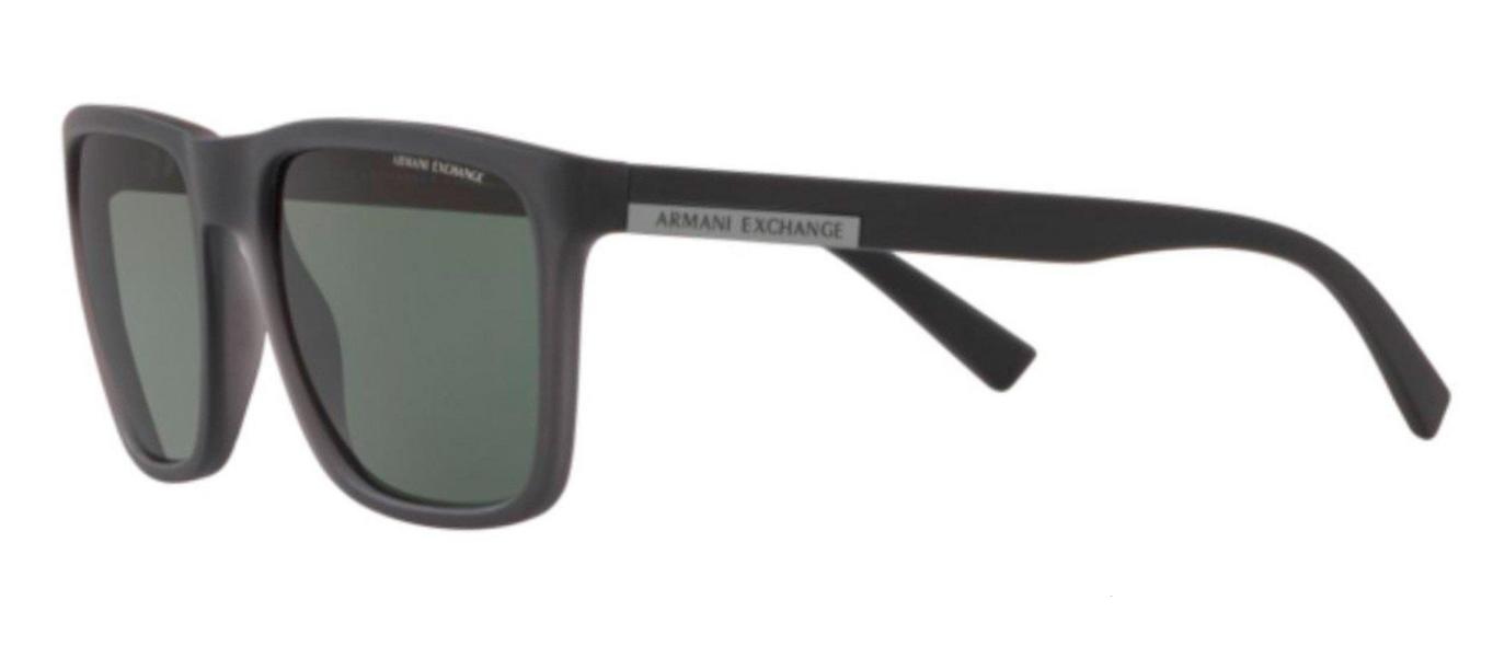 Óculos de Sol Armani Exchange Cinza Fosco AX4080SL -830571