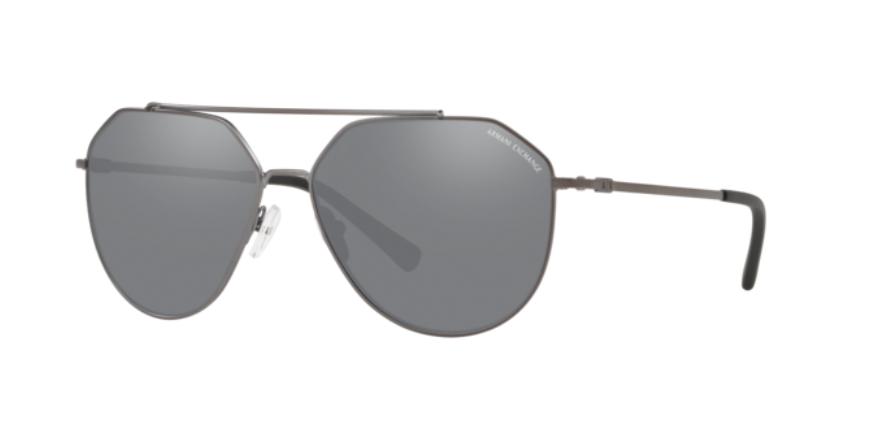 Óculos de Sol Armani Exchange Grafite AX2023S - 6088/6G/59 Espelhado