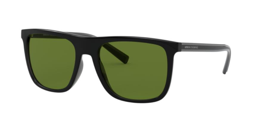 Óculos de Sol Armani Exchange Preto AX4102S - 82949A/56 Polarizado