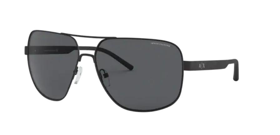 Óculos de Sol Armani Exchange Preto Fosco AX2030S - 606387/64