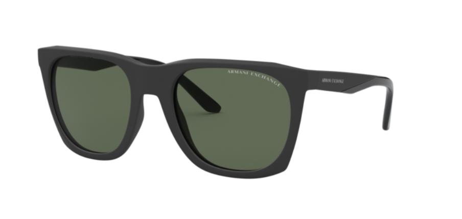 Óculos de Sol Armani Exchange Preto Fosco AX4085S - 830071/56