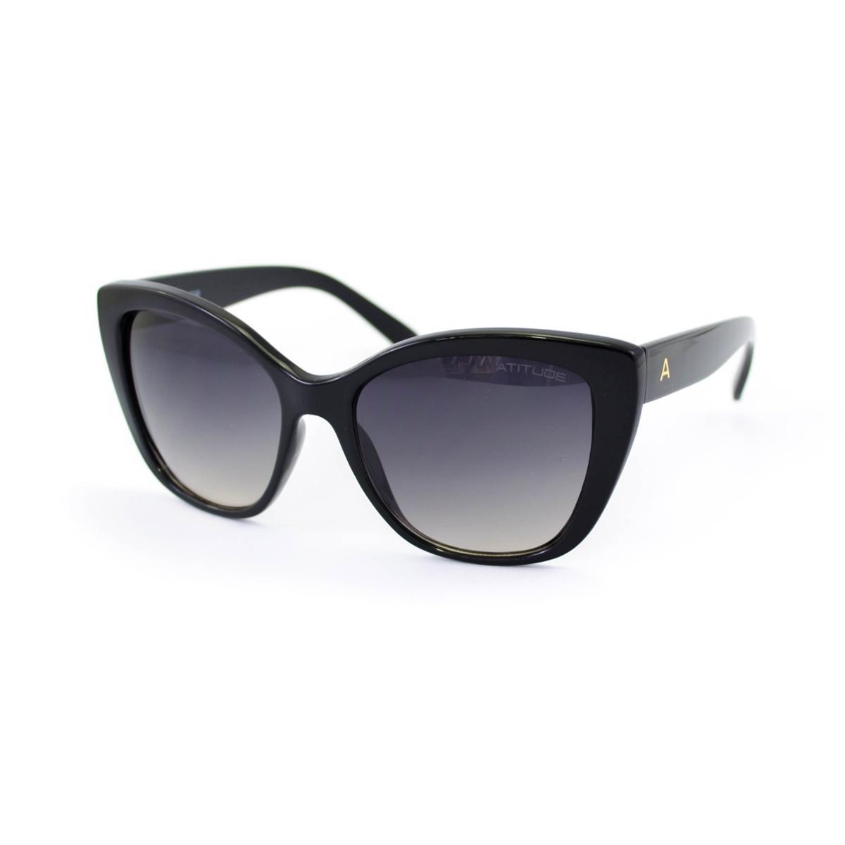 Óculos de Sol Atitude Preto AT5391 - A01/55