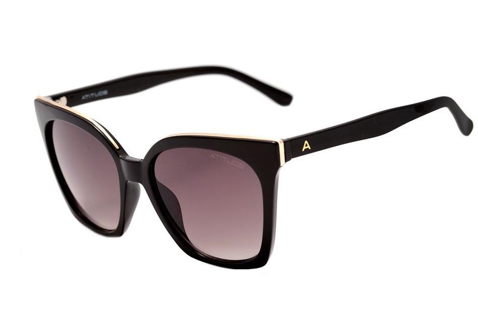 Óculos de Sol Atitude Preto AT5425 - A01/55