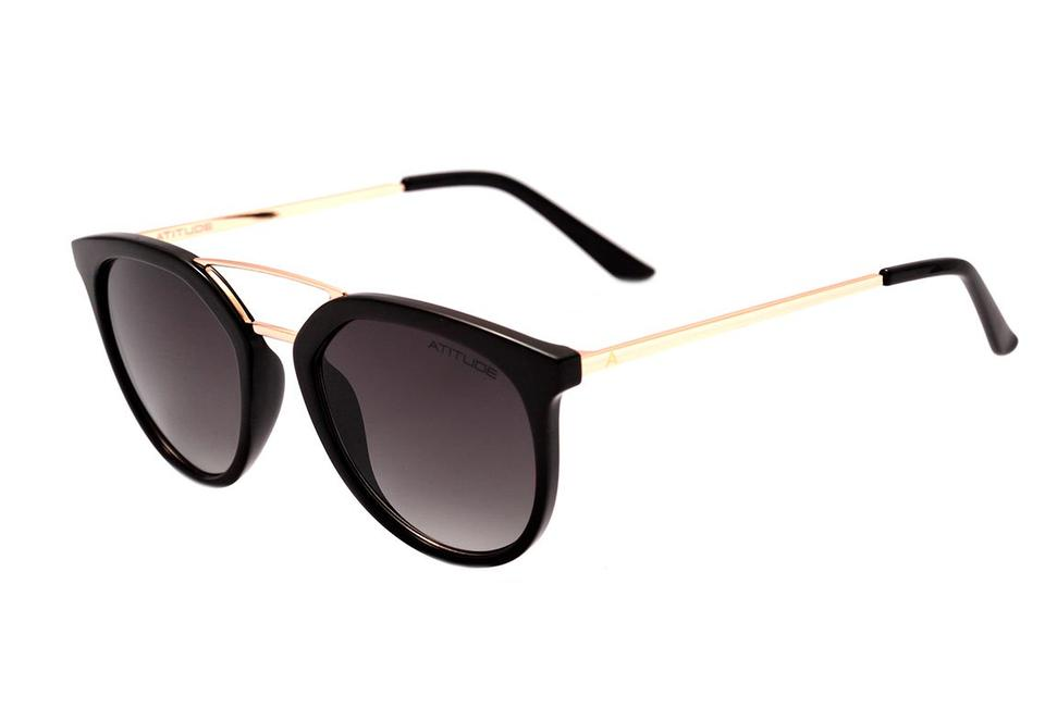 Óculos de Sol Atitude Preto/Dourado AT5431 - A01/53