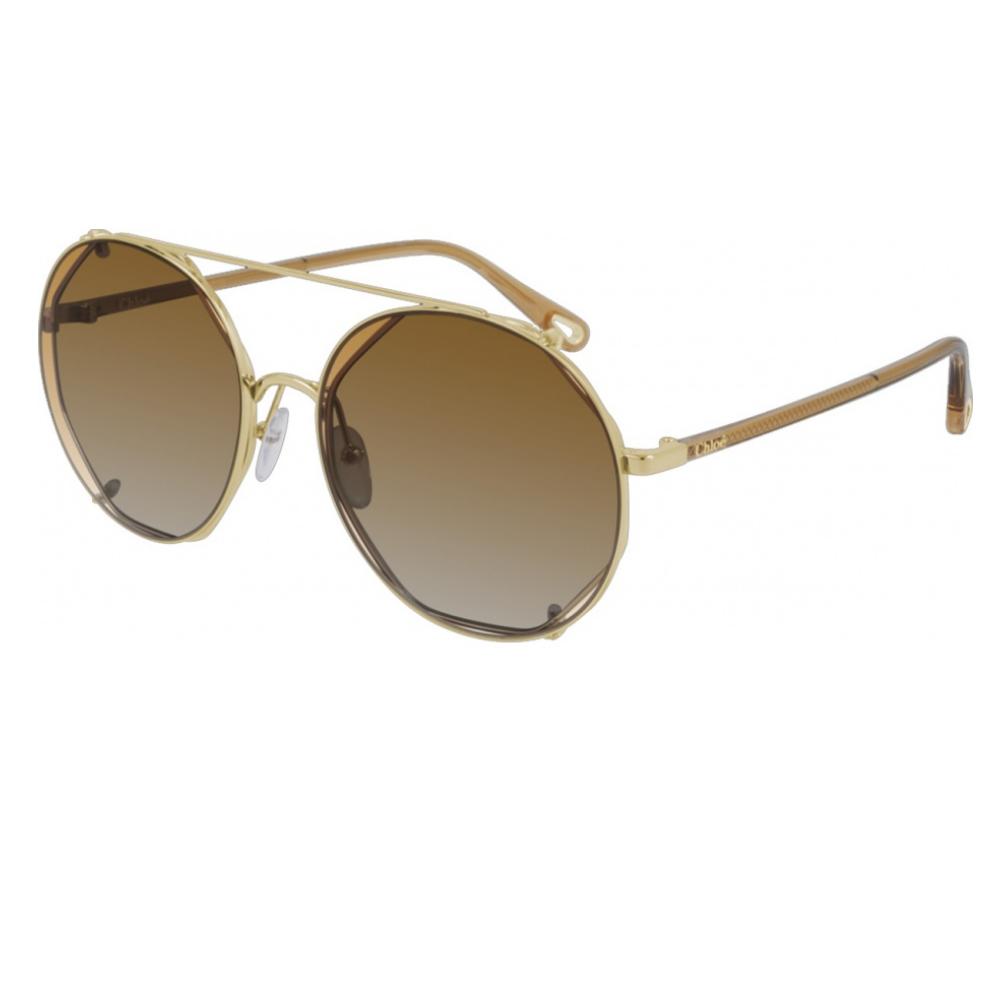 Óculos De Sol Chloé Clip-On CH0041S 002/57