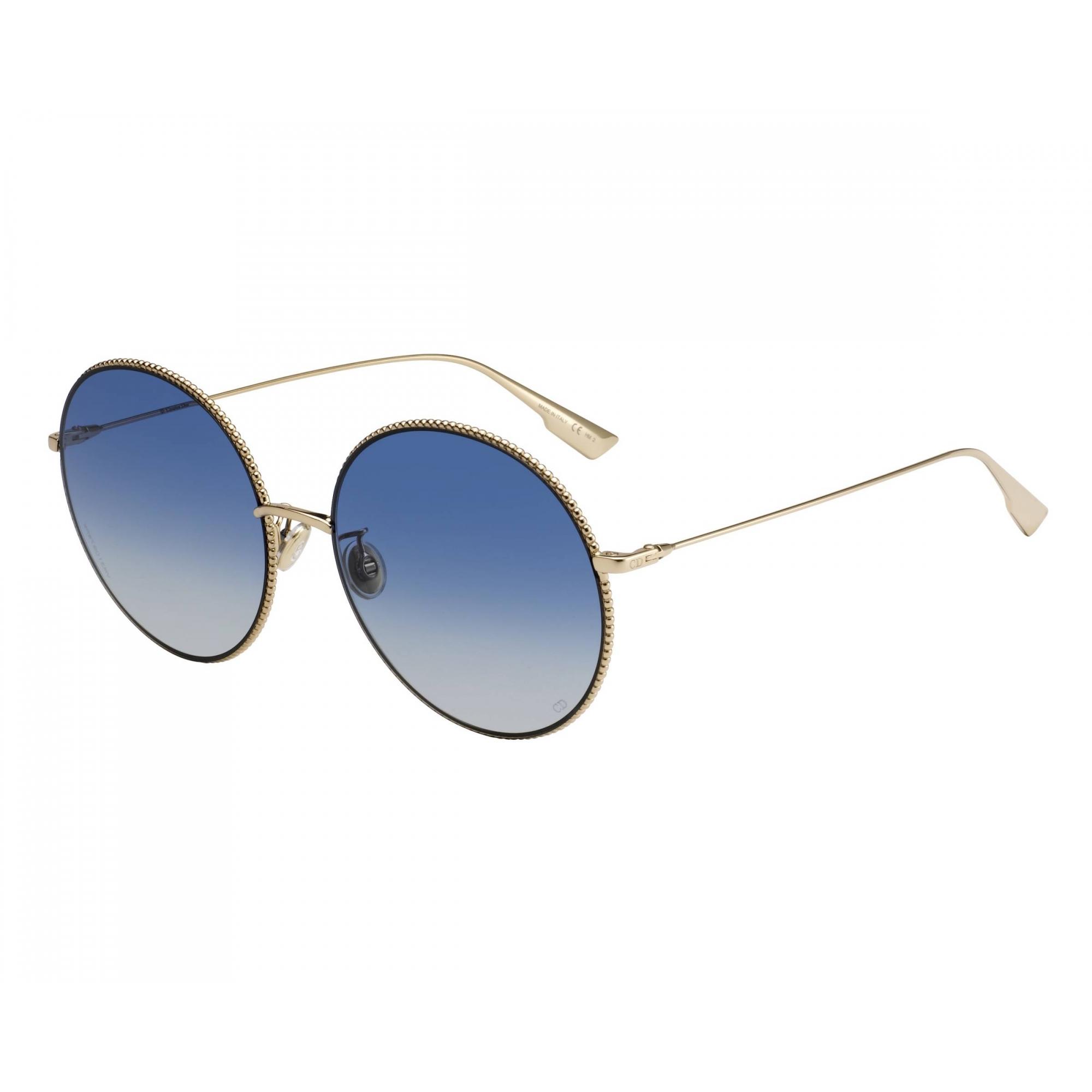 Óculos de Sol Dior Dourado/Azul DIORSOCIETY 2F - J5G/84/60